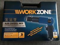 Workzone Air Chisel Set Brand New