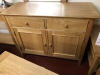 AVAILABLE TODAY New Built Scandinavian Oak Standard 2/2 sideboard 100x42x78cm £385