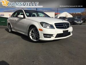 Just Arrived....2014 Mercedes-Benz C300 4Matic Luxury...