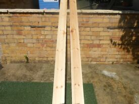 2 brand new lengths of skirting bird