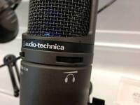 AUDIO TECHNICA AT2020+ USB MICROPHONE