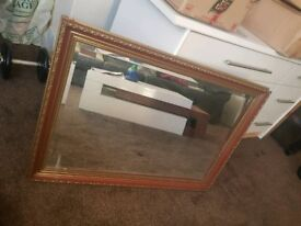 Lovely Large Mirror with Beautiful Frame Good Condition Can Deliver for £5 Locally