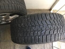 4 Winter wheels and tyres for Porsche Cayenne