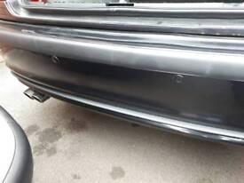 Bmw 3 series e46 black rear bumper saloon