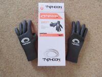Brand new Typhoon Vortex Liquid 2mm wetsuit gloves