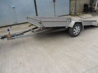 2 wheeled tipping trailer ideal for quad bike or smart car