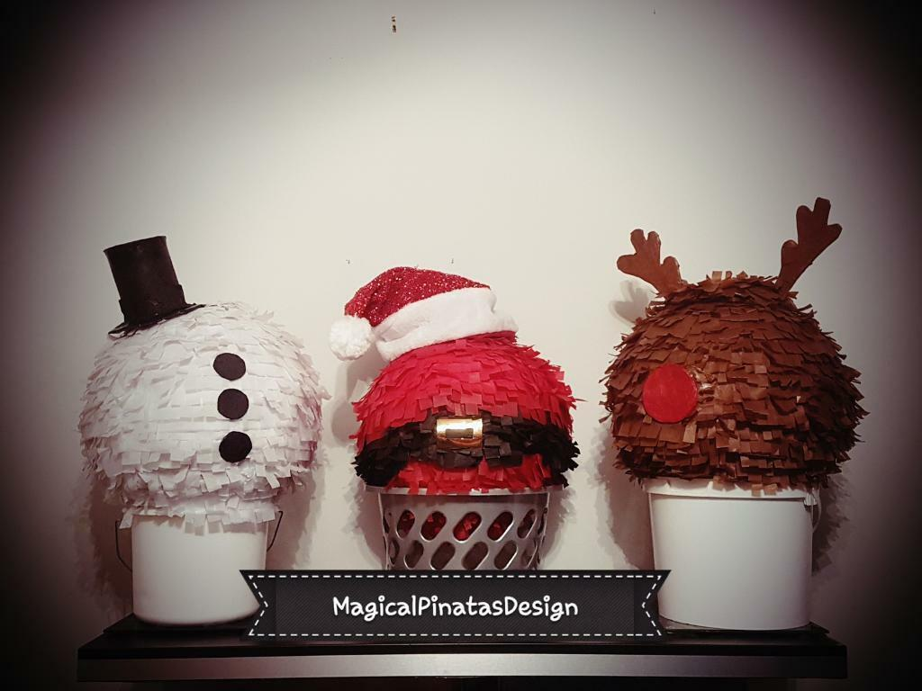 Magical Party Christmas Pinatas