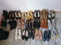 22 pairs ladies shoes size 5
