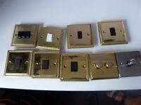 Set of 9 Light Switches