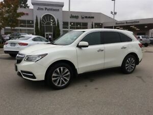 2014 Acura MDX Nav Pkg AWD BLACK LEATHER INTERIOR