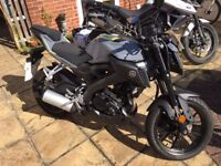 Yamaha MT-125ABS (MT125) - Excellent condition, low miles, older rider