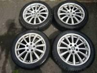 Jaguar x type alloys wheels good excellent condition