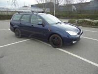 2003 Ford focus MK1 Zetec Petrol 1.6 Manual dark blue estate