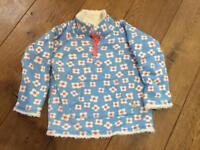 Frugi snuggle revsible jacket aged 5-6