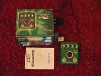 zoom a2 acouctic gutar effects pedel
