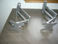 Two Steel Television Brackets
