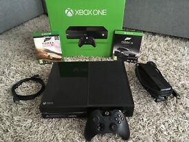 Xbox One 500GB and 2 games