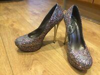Glitter Stilettoes/high heels