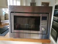 Integrated microwave oven and grill - never used