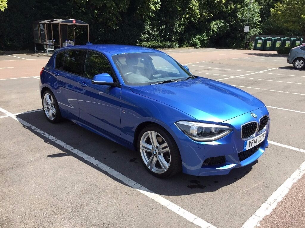 bmw 120d m sport 5 door in estoril blue in reading berkshire gumtree. Black Bedroom Furniture Sets. Home Design Ideas