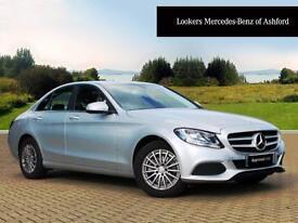 Mercedes-Benz C Class C200 BLUETEC SE (silver) 2015-04-13