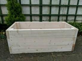 Raised bed, planter