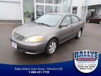 2004 Toyota Corolla LE, Auto, Air, *** 66 Kms ! ***