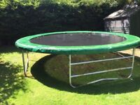 14ft trampoline by super tramp. Was £900 new