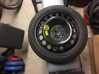 Vauxhall spare wheel/space saver