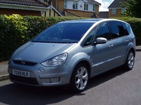 Ford S-Max Auto 2.0 TDCi Titanium 5dr Timing belt changed @97k