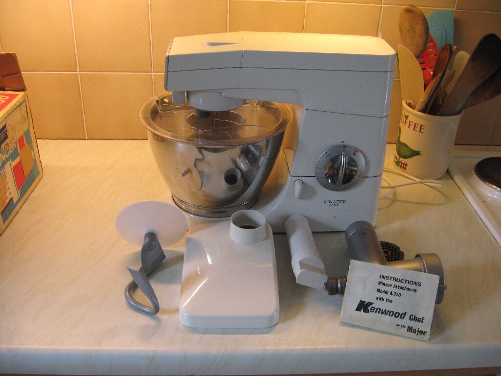 Kenwood Chel food processerin Newton Abbot, DevonGumtree - Kenwood Chef food processer with mincer and dough hook. In excellent condition