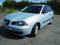 2003 Seat Ibiza 1.4 petrol sporty hatchback 3 door family car