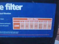 New Hozelock Pond filter