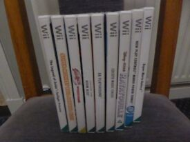 Nintendo Wii Games PAL VGC (Sports, Family, Kids, Action, Party) - 9 in total
