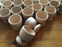 30 x wooden egg cups