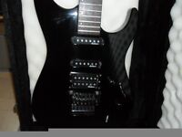 Charvel/Jackson Ex Stealth Professional Guitar (Early 1990's + Hard Case