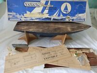 "Model ""varon"" sailing yacht 1970s"