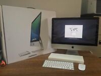 "Apple iMac 21.5"" Late-2013 2.7GHz i5 Quad Core Immaculate Condition 8GB RAM"