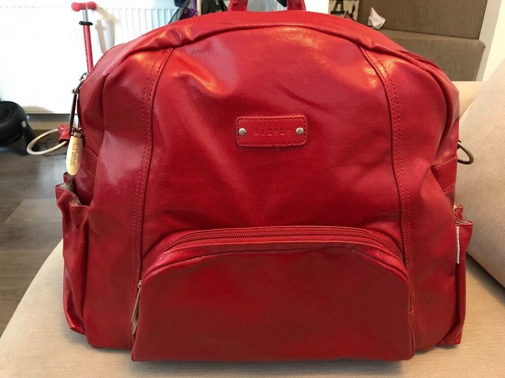 Minene Ella Changing Bag Red   in Maidstone, Kent   Gumtree ecd824c294
