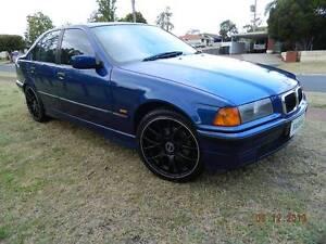 1998 Cobalt Blue (AKA Aussie Flag Blue) BMW 318i E36 Auto Sedan Girrawheen Wanneroo Area Preview