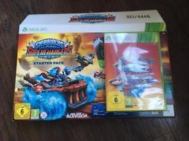 Xbox 360 Skylanders superchArgers game