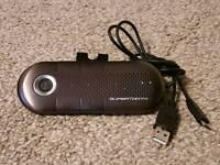 Bluetooth Visor Handsfree Kit