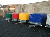 BRAND NEW MODEL 6X4 TRAILER- CAMPING TRAILER WITH FRAME AND COVER 750KG