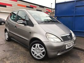 Mercedes-Benz A Class 1.4 A140 Classic Full Service History 3 Months Warranty, Excellent Condition