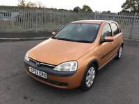 """2002 Vauxhall Corsa 1.2 """"Mot July 2018"""" 119k"""