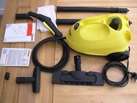Little used steam cleaner with all original attachments