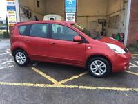 Nissan note, 2009, 1.4 petrol, clean car long mot, £1995 ono