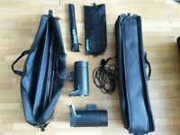 Broncolor Siros studio light kit - 400S Expert Twin Head Kit RFS2.1