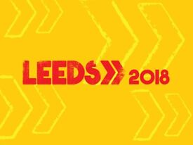 1X LEEDS FESTIVAL FULL WEEKEND TICKET(WITH/WITHOUT COACH FROM GLASGOW