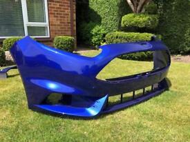 Ford Fiesta ST180 Spirit Blue front bumper